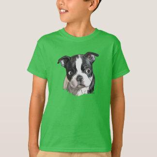 Niedlicher Boston-Terrier-Hund T-Shirt