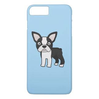 Niedlicher Boston-Terrier iPhone 8 Plus/7 Plus Hülle