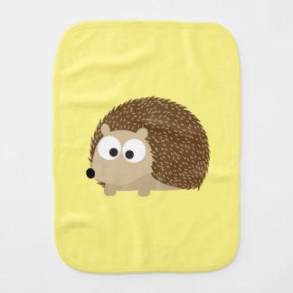 Niedlicher Brown-Igel Baby Spucktuch