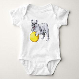 Niedlicher Bulldoggen-Baby-Anzug Baby Strampler