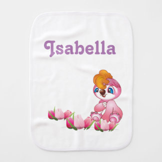 Niedlicher Burpstoff für Mädchen Baby Spuchtücher