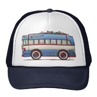 Niedlicher Bus-Ausflug-Bus Retrokultkappe