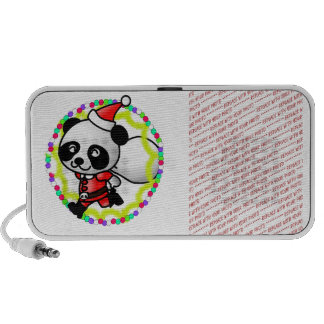 Niedlicher Cartoon-Panda-Bär Sankt PC Lautsprecher