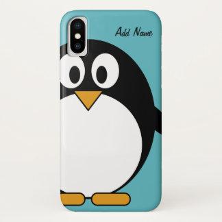 Niedlicher CartoonPenguin - iPod-Touch iPhone X Hülle