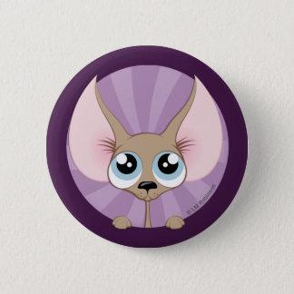 Niedlicher Chihuahua-Hundeknopf Runder Button 5,7 Cm