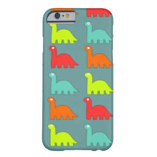 Niedlicher Dinosaurier-Muster iPhone 6 Fall Barely There iPhone 6 Hülle