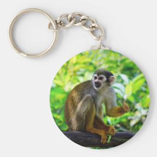 Niedlicher Eichhörnchenaffe Schlüsselanhänger