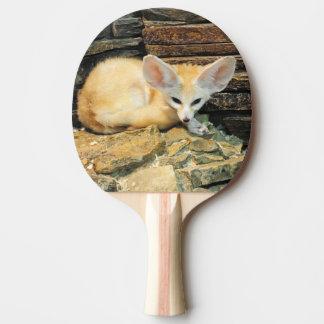 Niedlicher fennec Fuchs Tischtennis Schläger