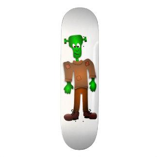 Niedlicher Frankenstein EntwurfSkateboard Individuelles Deck