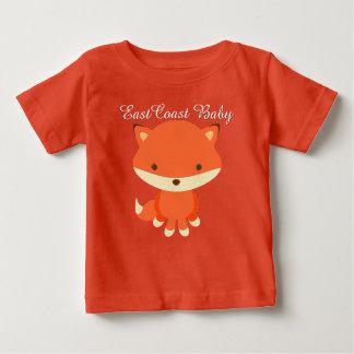 Niedlicher Fuchs des Ostküsten-Babys Baby T-shirt
