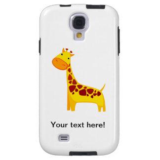 Niedlicher Giraffen-Cartoon Galaxy S4 Hülle