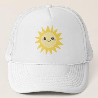 Niedlicher glücklicher Sun Truckerkappe