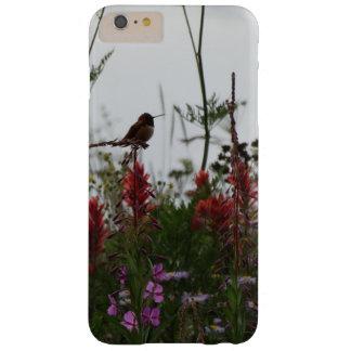 niedlicher grüner Kolibri an der Dämmerung Barely There iPhone 6 Plus Hülle