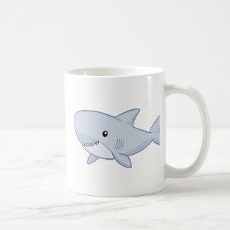 Niedlicher Haifisch Kaffeetasse