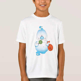Niedlicher Halloween-Geist-Cartoon T-Shirt