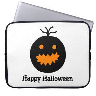 Niedlicher Halloween-Kürbis Laptopschutzhülle