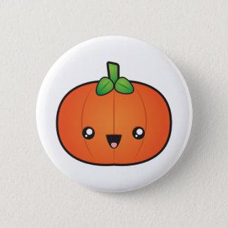 Niedlicher Halloween-Kürbis Runder Button 5,1 Cm