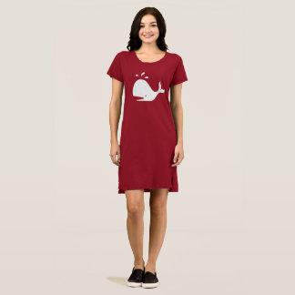 Niedlicher herausspritzender Wal 4Cornelia Kleid