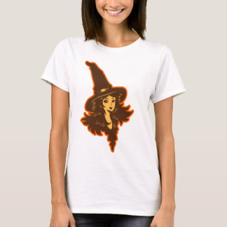 Niedlicher Hexe-T - Shirt