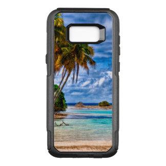 Niedlicher hübscher Sommer-hawaiischer OtterBox Commuter Samsung Galaxy S8+ Hülle