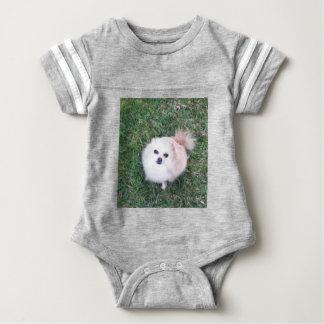 Niedlicher Hund Baby Strampler