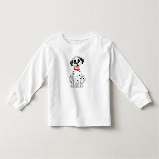 Niedlicher Hunddalmatiner Kleinkind T-shirt