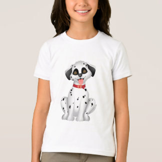 Niedlicher Hunddalmatiner T-Shirt