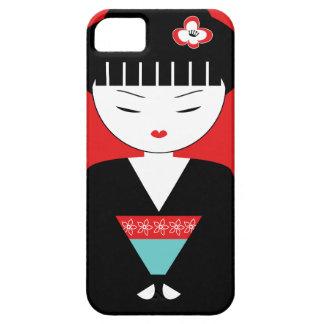 Niedlicher japanischer Geisha-Mädchen iPhone 5/5S iPhone 5 Case