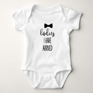Niedlicher Jungen-Zitat-Ankunfts-Einteiler Baby Strampler