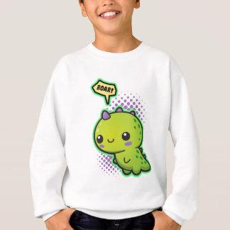Niedlicher Kawaii Dinosaurier Sweatshirt