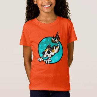 NIEDLICHER KITTYcat-MEERJUNGFRAU-T - SHIRT
