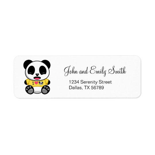 Niedlicher kleiner Panda