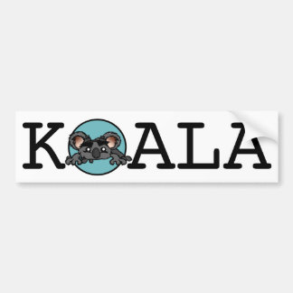 NIEDLICHER KOALA-BÄRN-AUTOAUFKLEBER AUTOAUFKLEBER