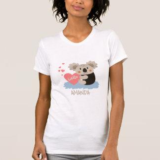 Niedlicher Koala streichelt ID386 T-Shirt