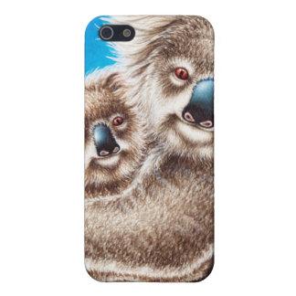Niedlicher Koala und Baby iPhone 5 Etuis