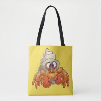 Niedlicher Krabbentaschen-Cartoon Tasche