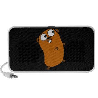niedlicher kundengerechter Gopher iPhone Lautsprecher