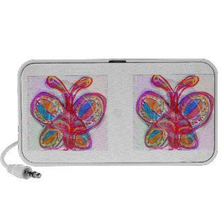 NIEDLICHER künstlerischer Schmetterling:  Genießen Reise Lautsprecher