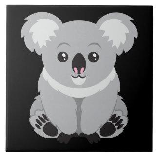 Niedlicher lebhafter Koala-Bär Fliese