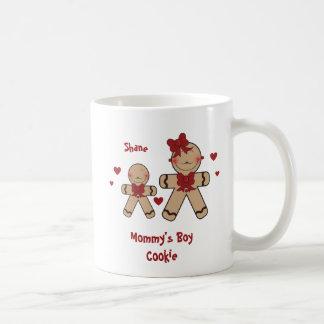 Niedlicher Lebkuchen-Plätzchen-Cartoon Kaffeetasse