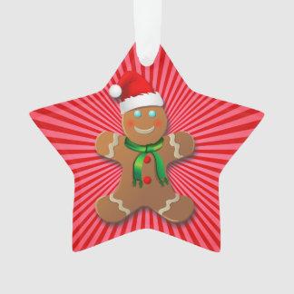 Niedlicher Lebkuchen-Plätzchen-Cartoon Ornament