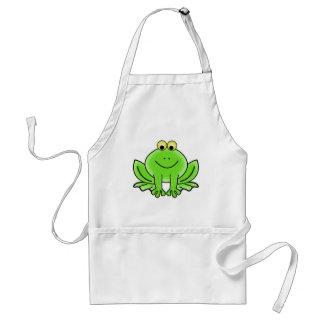 Niedlicher lustiger Frosch