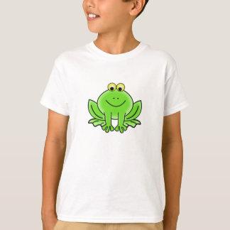 Niedlicher lustiger Frosch-T - Shirt