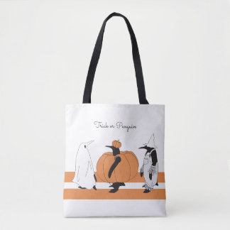 Niedlicher lustiger Penguin Halloween Tasche