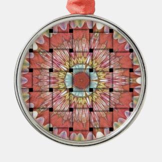 Niedlicher Nizza und reizender gesponnener Entwurf Silbernes Ornament