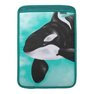 Niedlicher Orca-Wal MacBook Sleeve