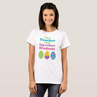 Niedlicher Ostern-Lehrer T-Shirt