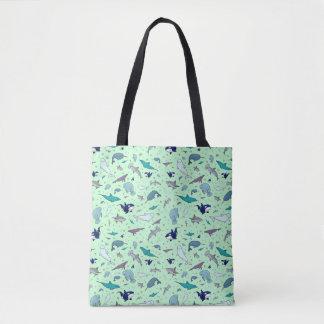 Niedlicher Ozean-TierTaschen-Tasche Tasche