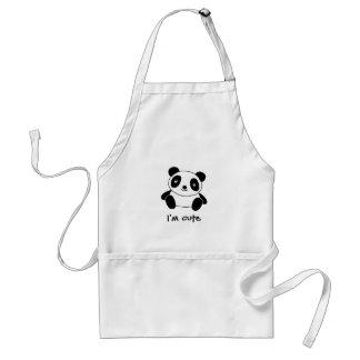 Niedlicher Panda Schürze