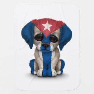 Niedlicher patriotischer kubanischer kinderwagendecke
